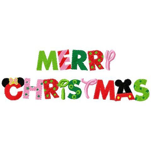 Merry Christmas Writing.Merry Christmas In Mouse