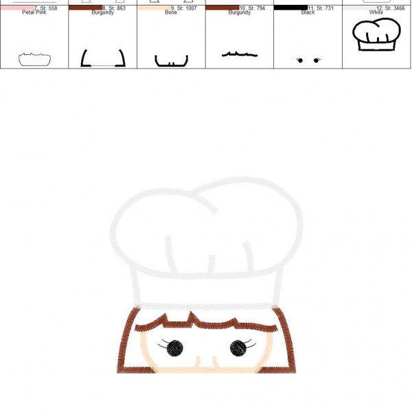 Chef Girl Peeker