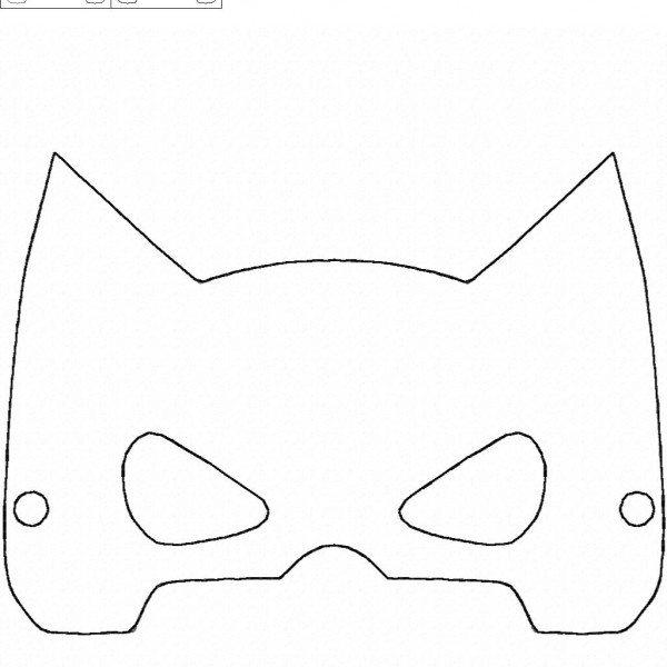 Bat Guy Mask and Wristbands