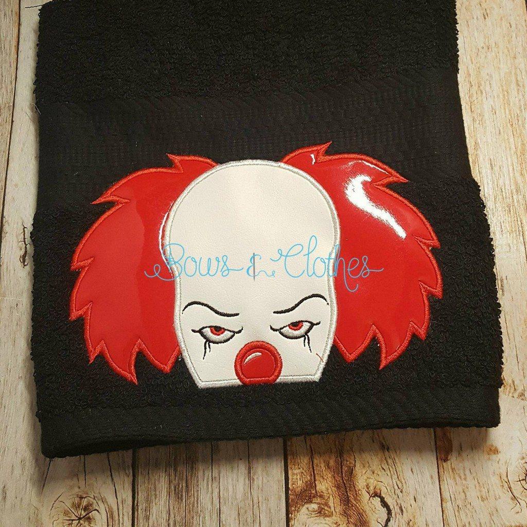 Creepy Clown Peeker Bows And Clothes