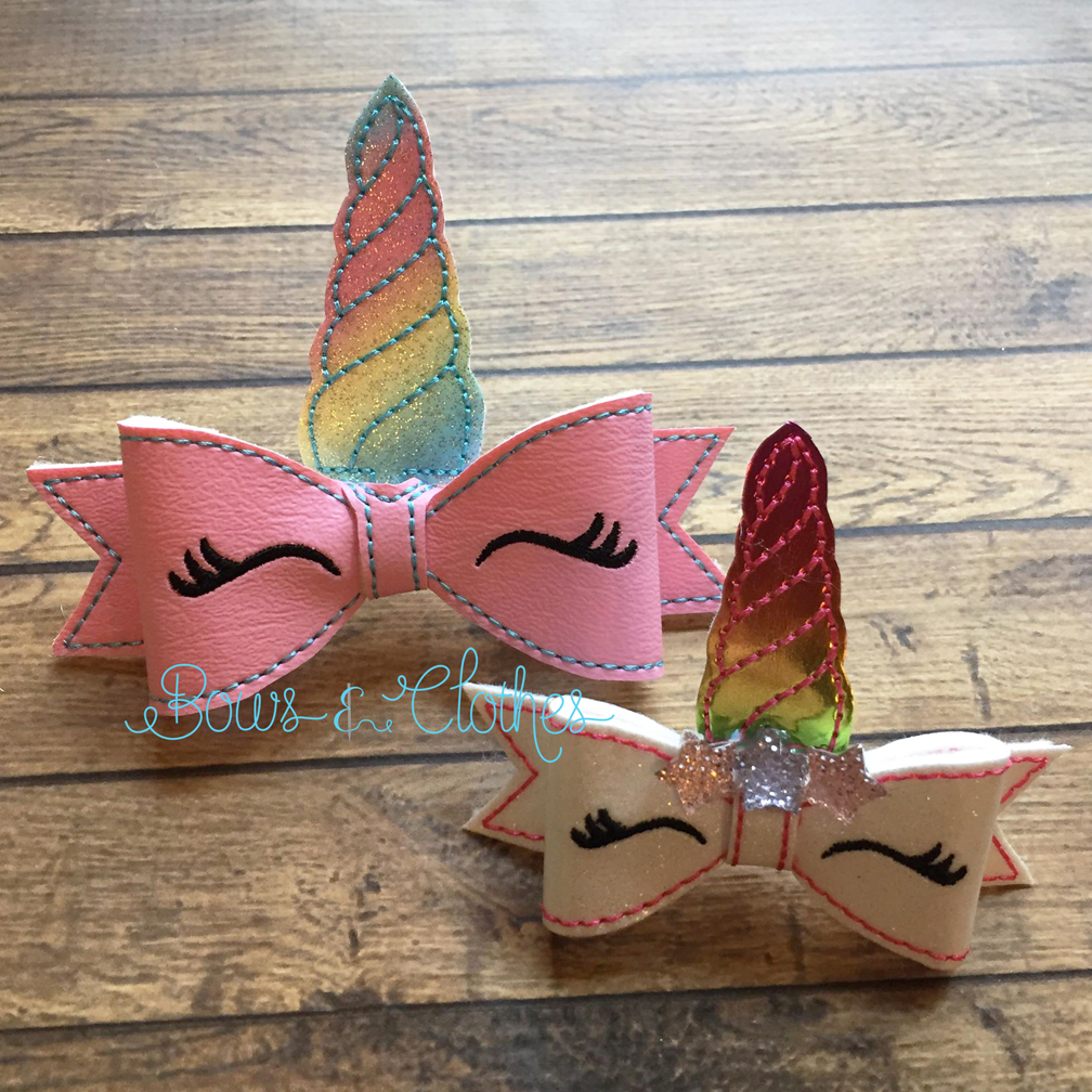Unicorn Bow Bows And Clothes